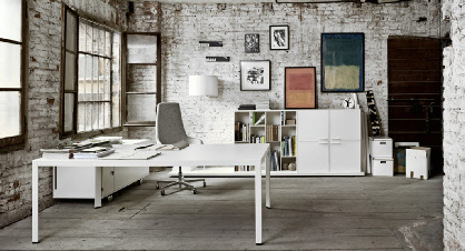 Sinetica executive desking for Design ufficio arredo